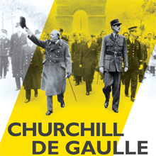 Affiche de l'exposition Churchill-de Gaulle