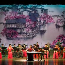 Image de concert de l'orchestre du Groupe d'Art Performance de la Province du Jiangsu