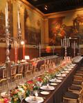 Diner dans la salle Turenne