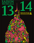 Affiche saison musicale 2013-2014