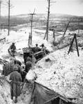 Dessus des abris souterrains et le poste optique, juin 1917