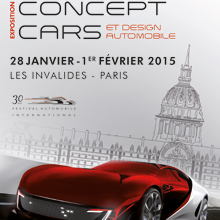 Affiche du 30e Festival Automobile International