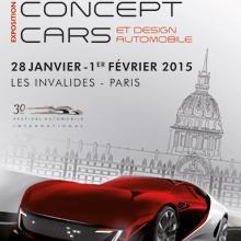 Affiche du 30e Festival Automobile International