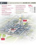 Nouvelle version du plan interactif du musée de l'Armée