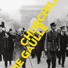 "Couverture du catalogue de l'exposition ""Churchill - de Gaulle"""