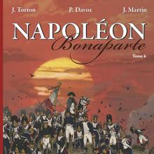 """Couverture du tome 4 de la bande dessiné """"Napoléon Bonaparte"""""""