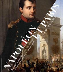 """Affiche de l'exposition """"Napoléon et Paris"""" au musée Carnavalet"""