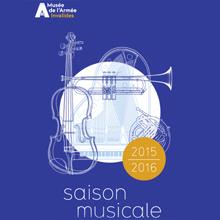 Couverture brochure saison musicale 2015-2016