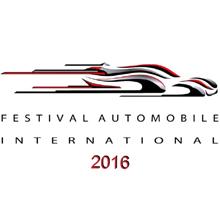 Affiche du Festival Automobile International 2016