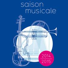 Affiche saison musicale 2014-2015