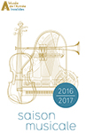Illustration de la brochure saison musicale 2016-2017
