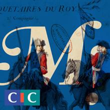Images exposition Mousquetaires ! avec logo CIC