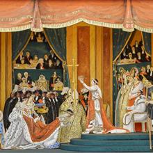 Diorama du sacre de Napoléon