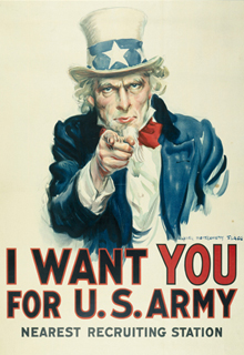 "Affiche ""I want you for US Army"""