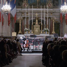 Concert dans la cathédrale Saint-Louis des Invalides