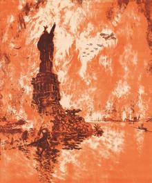 Affiche du 4e Liberty Loan par Joseph Pennell, 1918