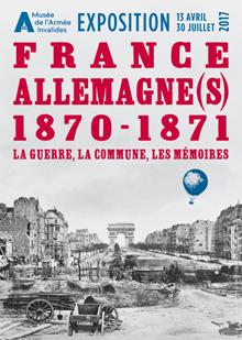 Affiche de l'exposition France Allemagne 1870-1871