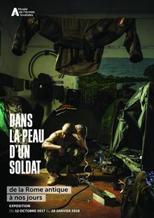 Affiche de l'exposition Dans la peau d'un soldat