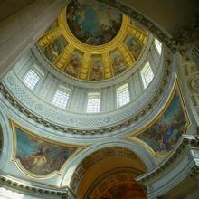 Vue de la coupole de l'église du Dôme