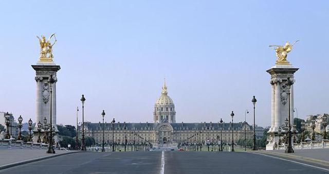 Photo De L Hôtel National Des Invalides Vu Depuis Le Pont Alexandre 3