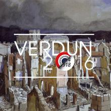 Verdun, juillet 1916 peint par Flameng François (1856-1923) © Paris, musée de l'Armée