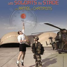 Affiche exposition Les soldats du stade, une armée de champions