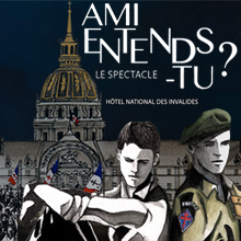 "Affiche spectacle ""Ami entends-tu ?"""