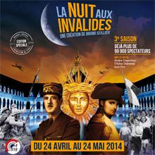 Affiche La Nuit aux Invalides 2014