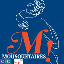 Affiche de l'exposition Mousquetaires !
