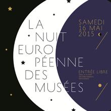 Affiche de la Nuit européennes des musées 2015
