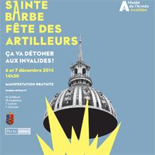 Affiche de la Sainte-Barbe 2014