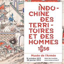 Affiche Indochine. Des territoires et des hommes, 1856-1956
